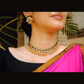 Maharani Haar Necklace Set (ACN039)