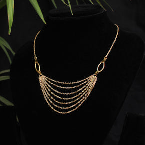 Dangling Chain Necklace (ACMN012)