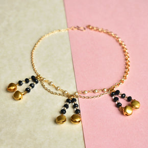 Beaded String Anklet (ANK007)