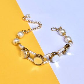 Pearl Bar Anklet (ANK009)