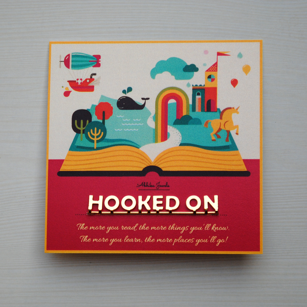 Hooked On Bookmark (ABM002)