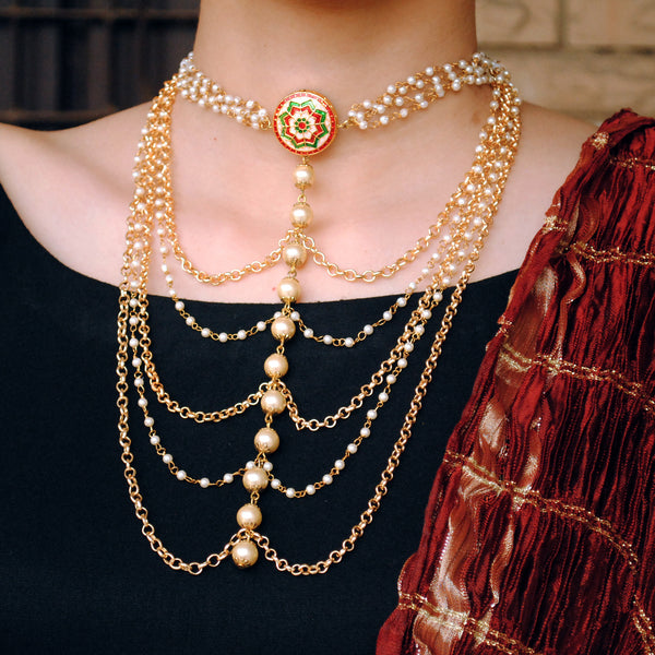 Multi-Layered Necklace (ACN031)