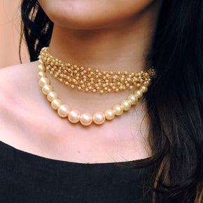 Pearl Choker Necklace (ACN029)