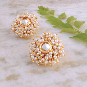 A Pearly Delight Earrings (ACE173)