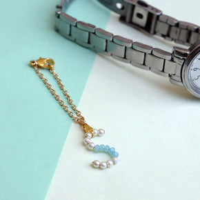 Handmade Personalised Initial Watch Charm (ACWC005)