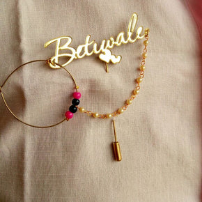 """Betiwaale"" Wedding Brooch (AWBR02)"