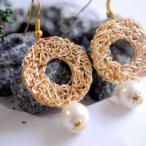 Meshed Up! Earrings (ACE040)