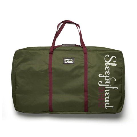 SLEEPYHEAD® ON THE GO GRAND TRANSPORT BAG - MOSS GREEN
