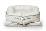 SLEEPYHEAD® GRAND COVER Silver Lining (chevron)