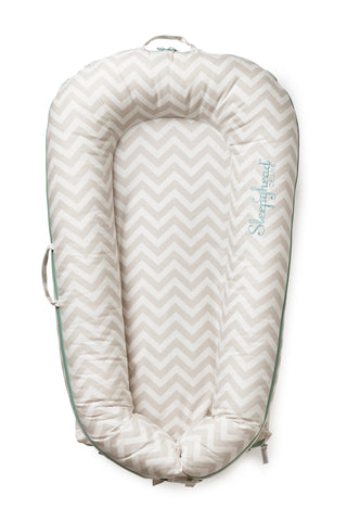 SLEEPYHEAD® DELUXE+ COVER Silver Lining (chevron)