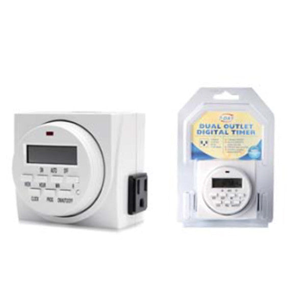 Sinowell - Dual Outlet Digital Timer
