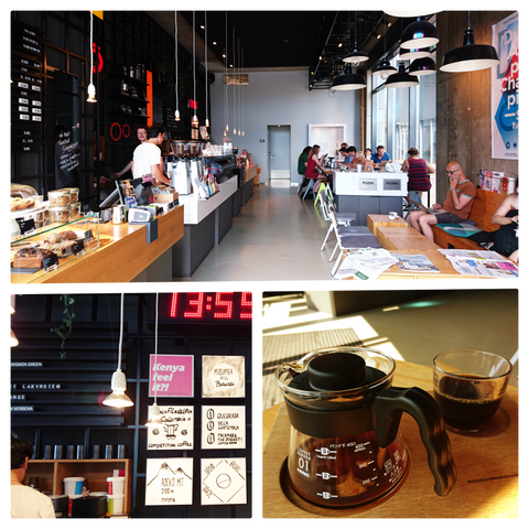 Cafes in Materdam- Handcraft Coffee