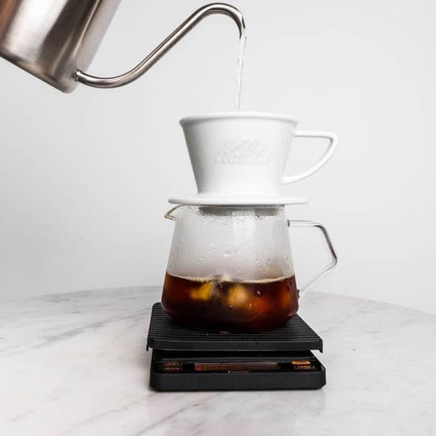 Kalita Wave Hasami Dripper aus Porzellan #155- Handcraft Coffee