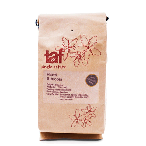 Filterkaffee. Äthiopien Hariti. Single Origin. DIREKTHANDEL. 250g- Handcraft Coffee