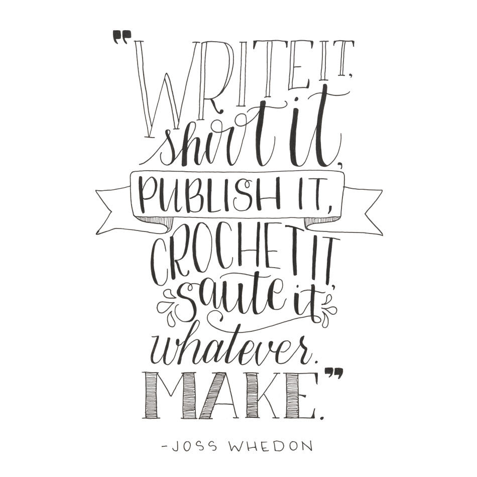 Write it, Shoot it, Publish it