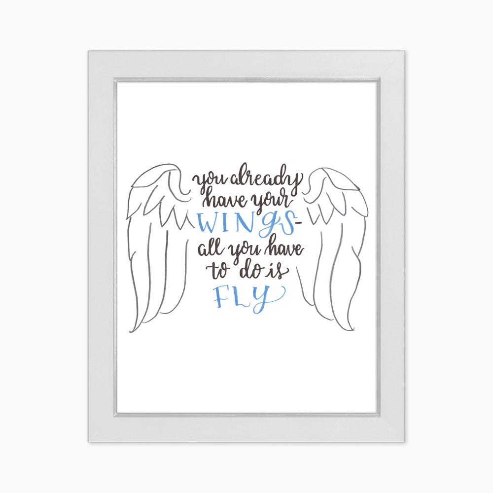 Wings Art Print