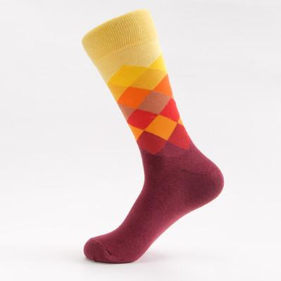 Faded Diamond Sock Socks TasteeTreasures