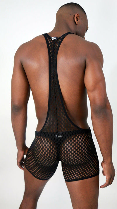Midnight Mesh Body Suit Body Suit TasteeTreasures