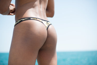 Army Camo Thong Thong TasteeTreasures