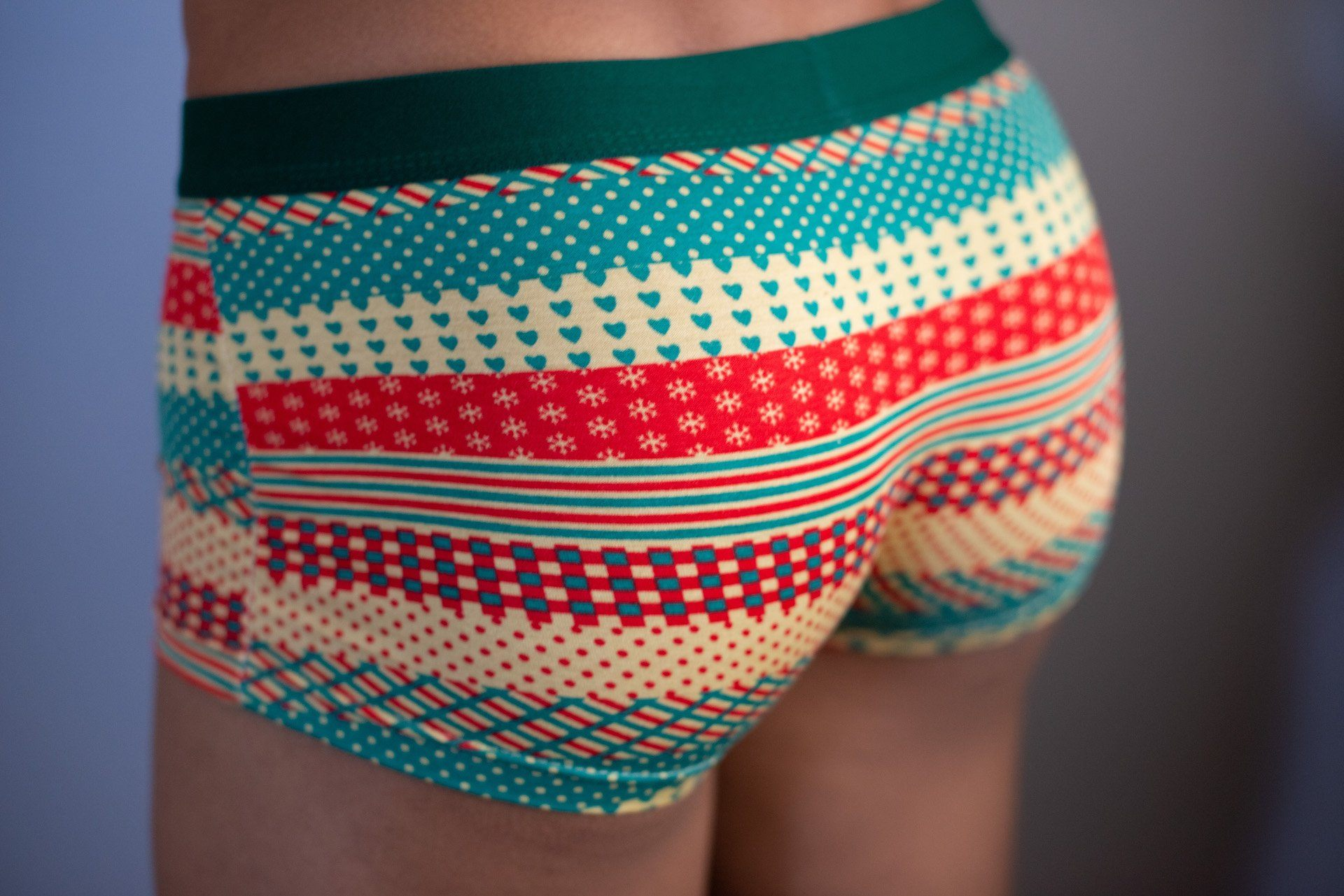 Gift Wrapped Boxer Briefs  -  Boxer Briefs - TasteeTreasures