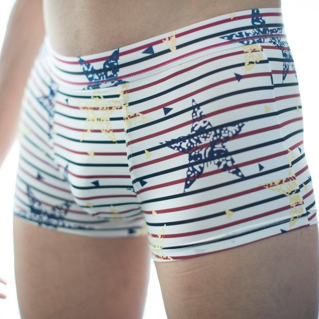 Star-Spangled Banner Briefs Boxer Briefs TasteeTreasures