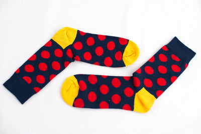 Polka Dot Socks 5-pack Socks TasteeTreasures