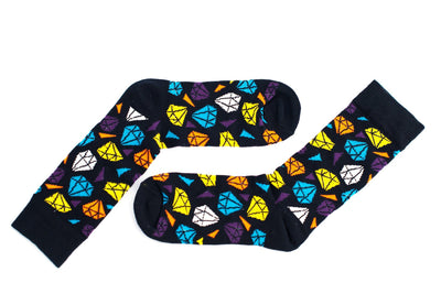 Black Diamond Sock Socks TasteeTreasures