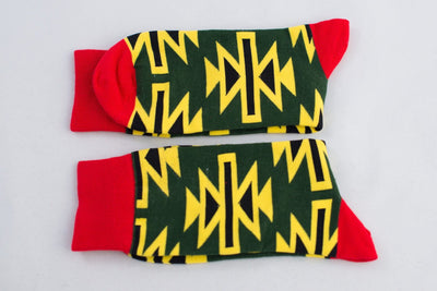 Warrior Tribal Socks Socks TasteeTreasures