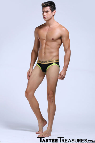 Golden Wrapped Briefs Briefs TasteeTreasures