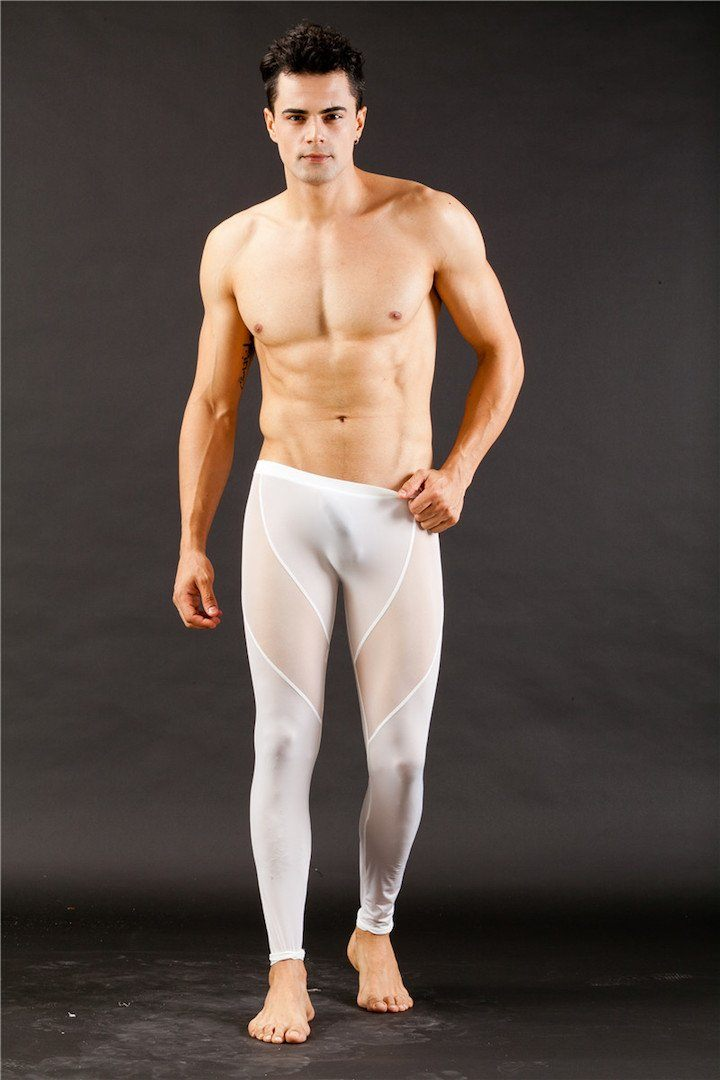 Mesh Dancer Pants  -  pants - TasteeTreasures