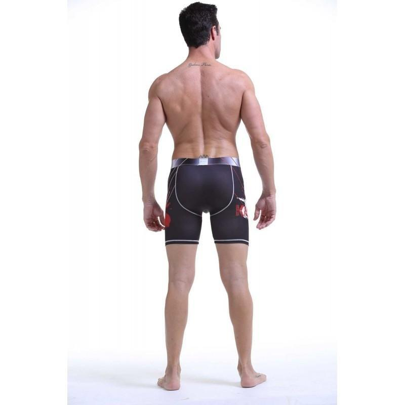 Black Compression Shorts TasteeTreasures