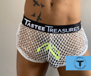 Morning Mesh Shorts Shorts TasteeTreasures White 28in-30in