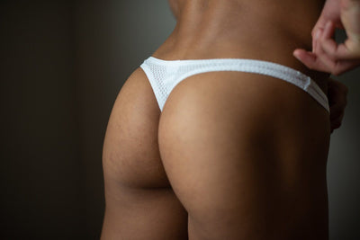Morning Mesh Thong Thong TasteeTreasures