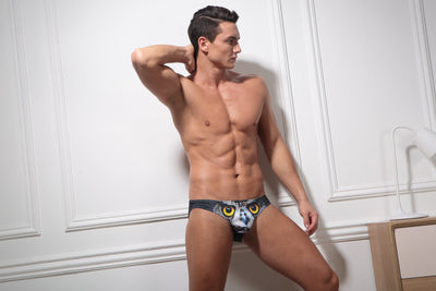 Owl Print Briefs Briefs TasteeTreasures