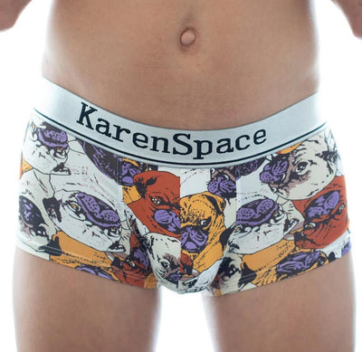 Pug Boxer Briefs Boxer Briefs TasteeTreasures