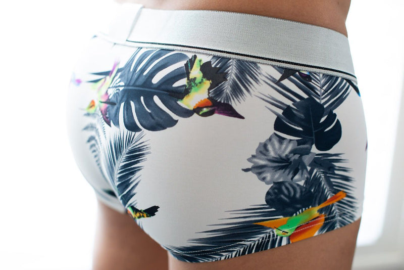 Tropical Boxer Briefs Boxer Briefs TasteeTreasures