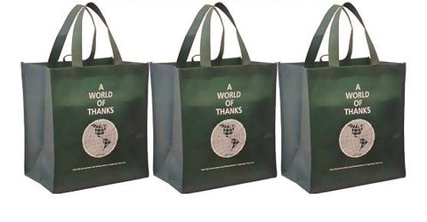 CYMA Reusable Grocery Totes, World of Thanks