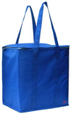 Large Insulated Zippered Tote Bag
