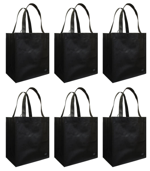 CYMA Reusable Grocery Totes | 6 Bag Set