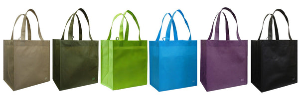 CYMA 6 Reusable Grocery Totes Bag Set