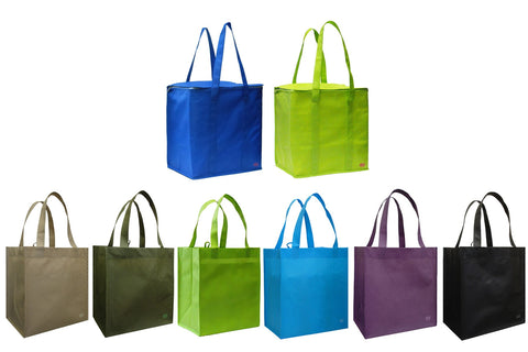 CYMA Insulated & Grocery Tote Bag Shopper Saver Pack