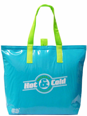 "CYMA Insulated Tote Bags - Insulated Tote Bag, 15""x12""+3"" Flat Bottom- Aqua Blue"