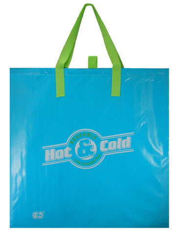 CYMA Insulated Tote Bag- Insulated Tote Bag, Large, Aqua Blue