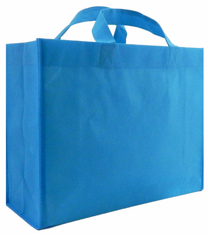 CYMA Reusable Gift Bags - Reusable Gift Bags, Large-  6 Bag Set- Aqua Blue