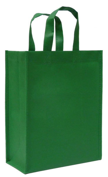 CYMA Reusable Gift Bags, Medium- Green