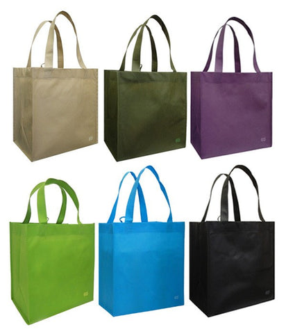 CYMA Reusable Tote Bags - Reusable Grocery Tote Bag, Variety Combo- 6 Bag Set