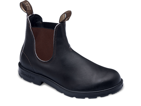 #500 Stout Brown Premium Leather Chelsea Boots