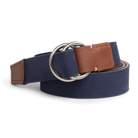 Mountainside Canvas O-Ring Belt