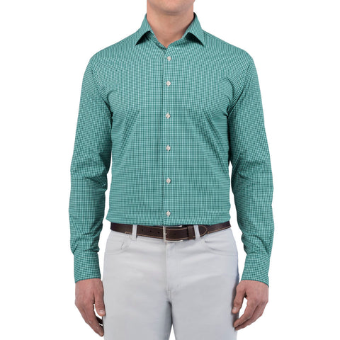 Statler Performance Check Woven Sport Shirt
