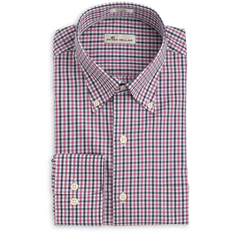Adams Multi-Check Sport Shirt